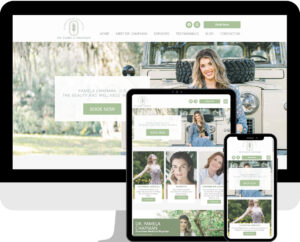 Pamela Chapman Physician Medical Professional WordPress Website Design