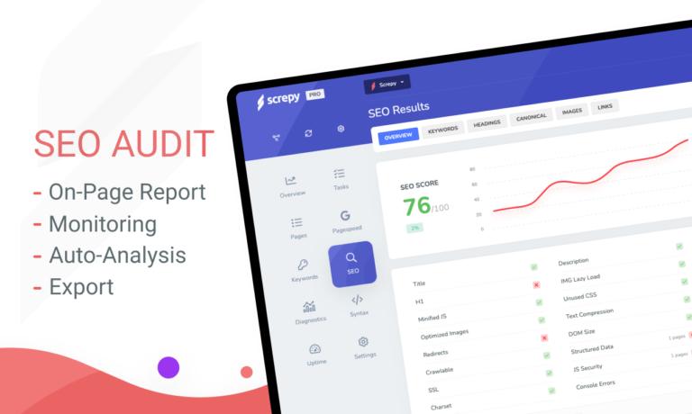 SEO Audit System by Screpy