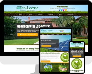Lawn Care and Maintenance company WordPress website design by Deckard & Company, a Boutique Marketing Agency