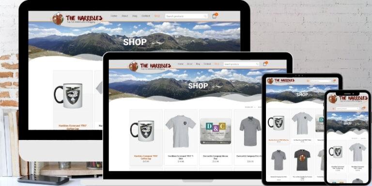 E-Commerce Mobile Responsive WordPress Website Design and Development